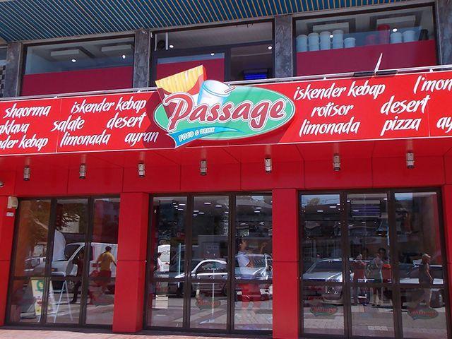 Detalii Fast-Food Fast-Food Passage