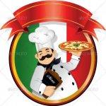 Logo Restaurant Pizzeria Italiana da Mario Crolla Campia Turzii